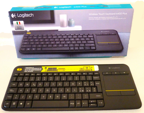 Logitech K400 tastiera wireless