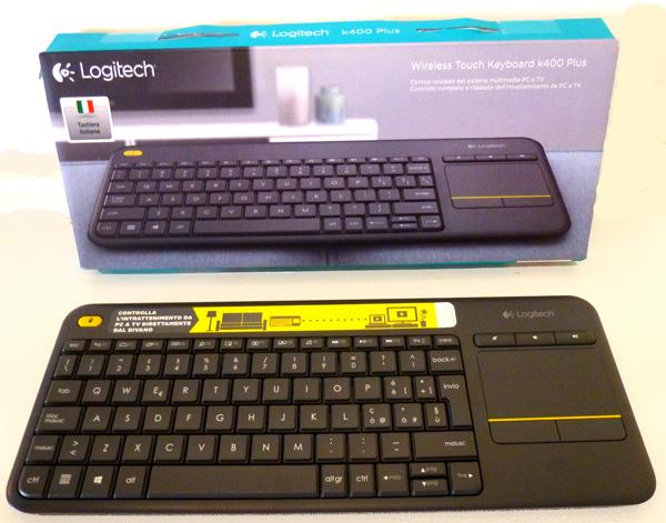 Logitech K400 tastiera wireless