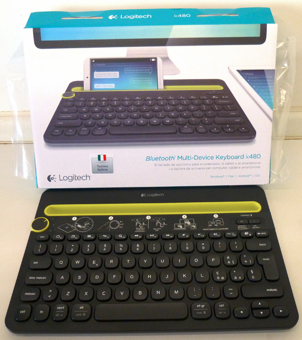 Logitech tastiera wireless K480