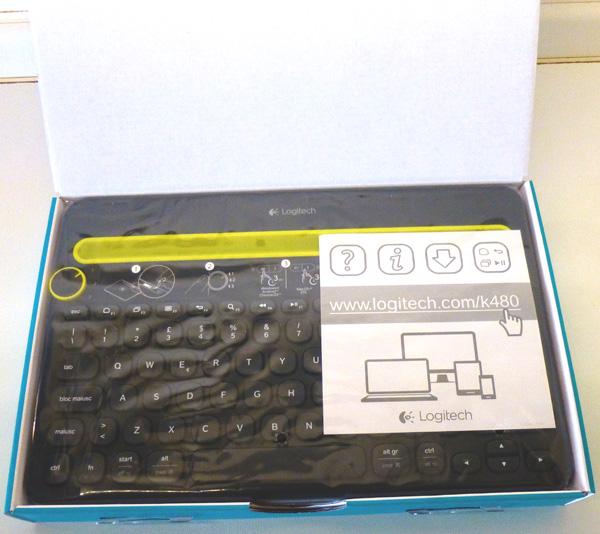 Logitech K480 tastiera wireless
