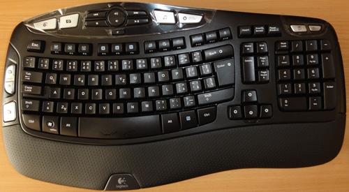 Logitech K350 tastiera ergonomica