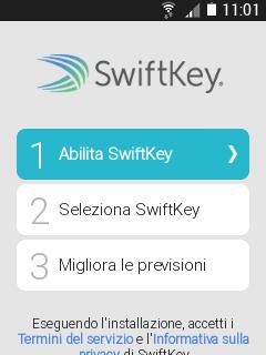Swiftkey tastiera virtuale