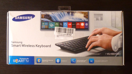 Samsung Smart Wireless Keyboard VG-KBD1000
