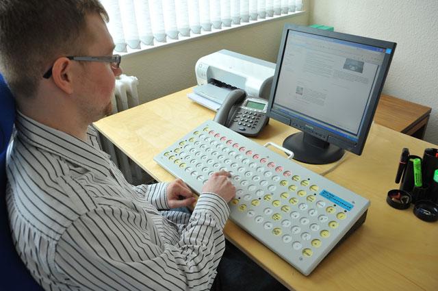 tastiera espansa per disabili maltron