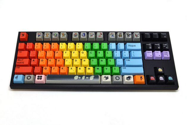 tastiera wasd personalizzata meccanica